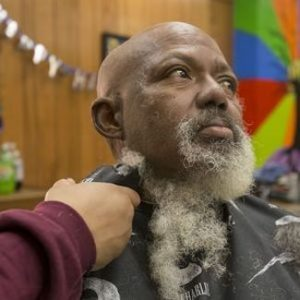 Denver barber grooming homeless