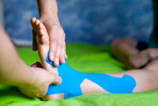 chiropractic adjustments for hip and knee injuries.